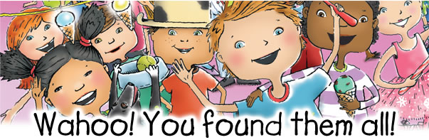 Wahoo! You found them all!